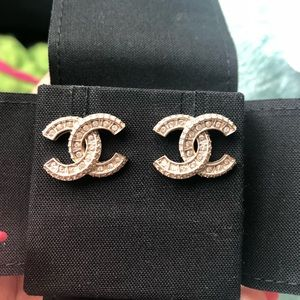 Chanel Signature earrings
